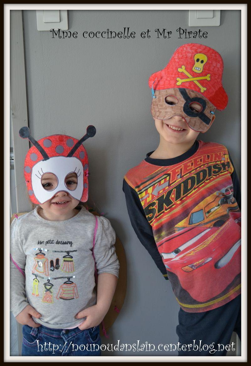 Activite carnaval - Monsieur pirate ...