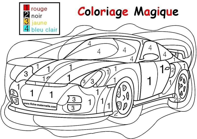 Activite coloriages - Coloriage magique sur les sons ...