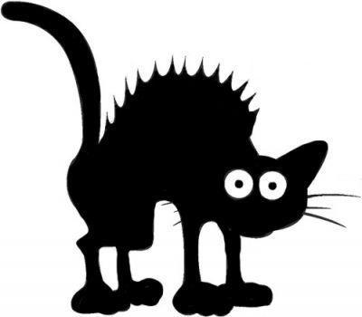 Chez nounou dans l 39 ain page 38 - Dessin chat halloween ...