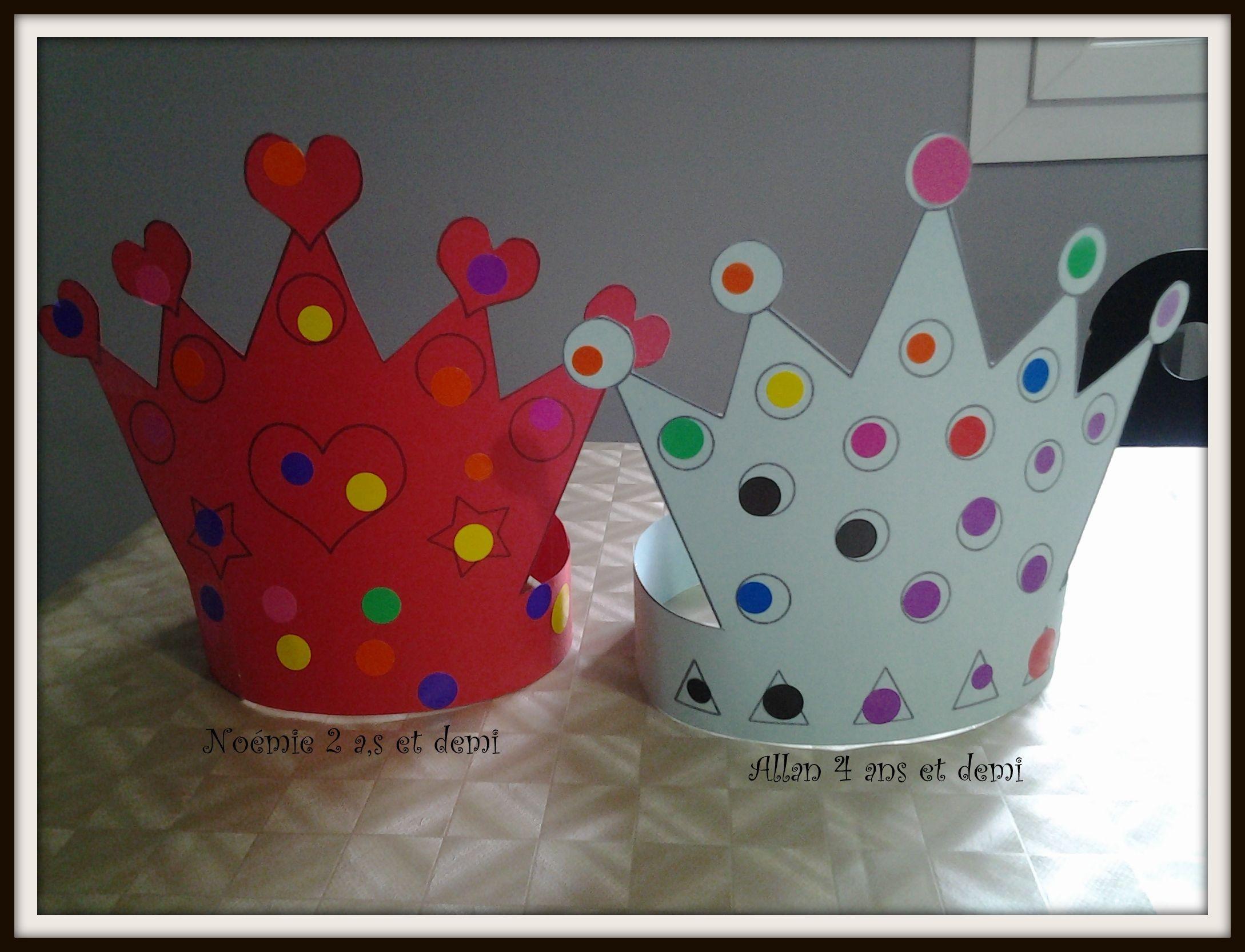 Nos couronnes des rois et des reines - Couronne epiphanie maternelle ...