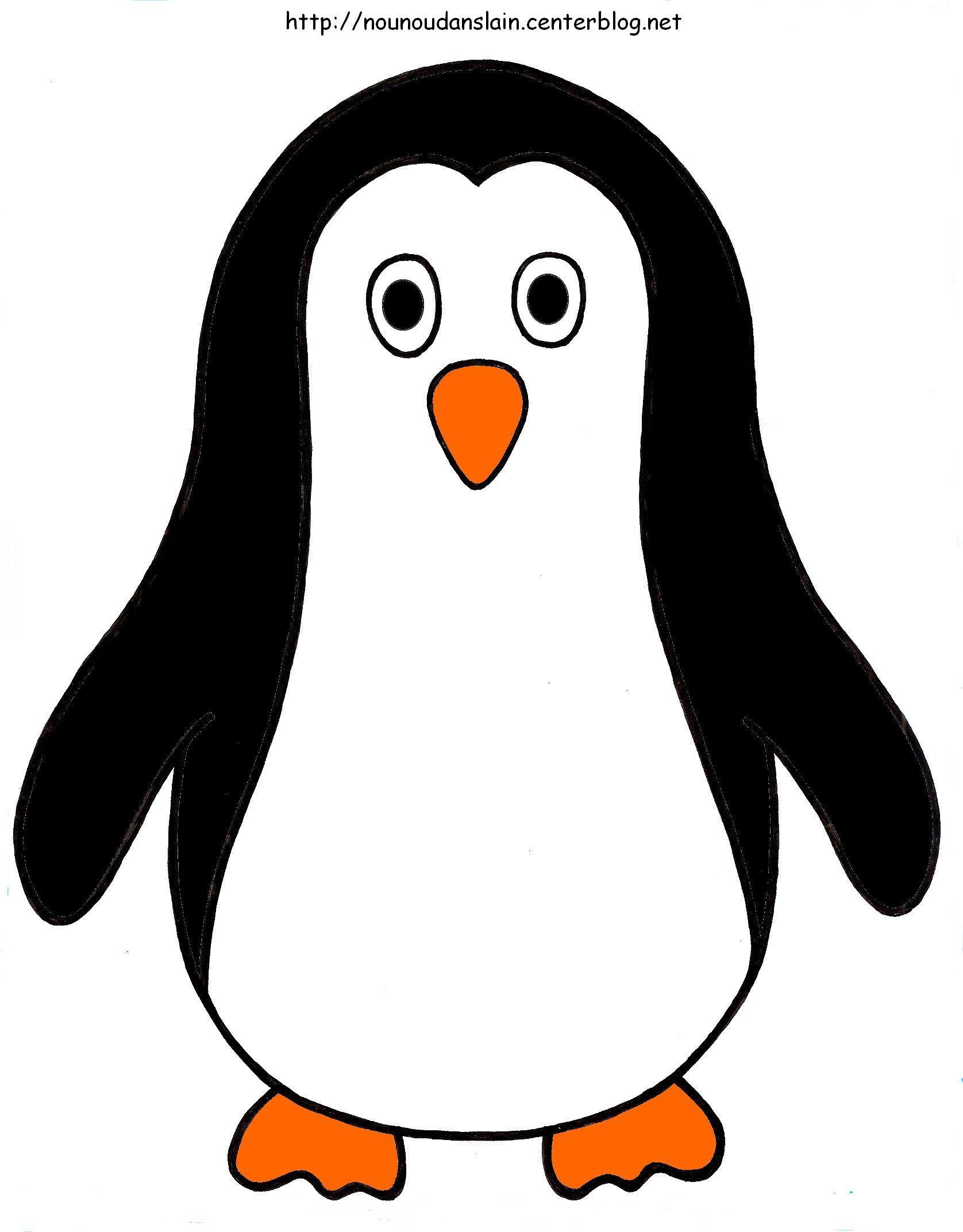 La banquise des pingouins - Coloriage pingouin banquise ...
